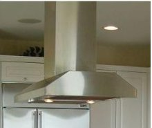 "Slim Line Island Hood - 28"" Depth"