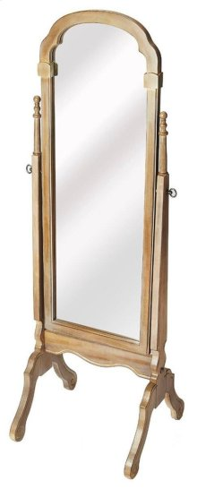 Curvy in all the right places, this mirror will surely highlight the look of the room you place it in. The mirror can flexibly be placed in an empty corner of your living room, in your bedroom as a dressing mirror, or simply near the main door for a quick