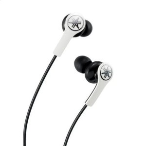 YamahaEPH-M100 White High-performance Earphones with Remote and Mic
