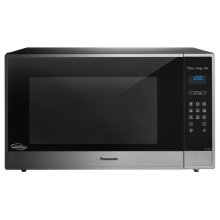 2.2 Cu. Ft. Built-In/Countertop Microwave Oven with Cyclonic Wave Inverter Technology - Stainless Steel - NN-SE985S