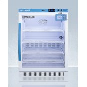 Performance Series Med-lab 6 CU.FT. Freestanding ADA Height Glass Door All-refrigerator for Laboratory Storage With Factory-installed Data Logger
