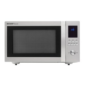 Sharp1.6 cu. ft. 1100W Sharp Stainless Steel Carousel Countertop Microwave Oven