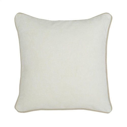 SLD Heirloom Velvet Ivory 18x18
