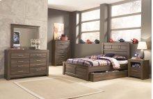 Juararo - Dark Brown 5 Piece Bedroom Set