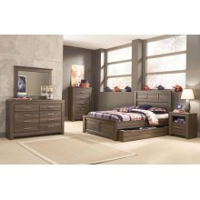 Juararo - Dark Brown 5 Piece Bedroom Set