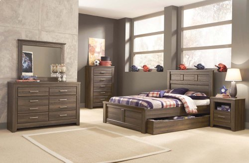 3 Pc. Full/Queen Bedroom Set - Juarano Dresser, Mirror & Panel Headboard