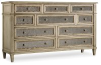 Bedroom Sanctuary Ten Drawer Dresser-Pearl Essence Product Image