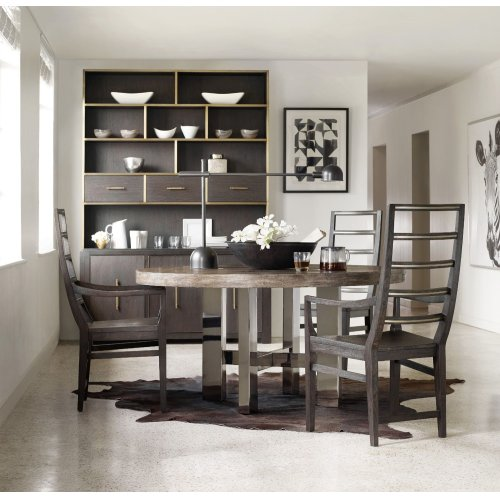 Dining Room Curata Ladderback Arm Chair