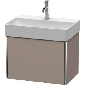 Vanity Unit Wall-mounted Compact, Basalt Matt (decor)