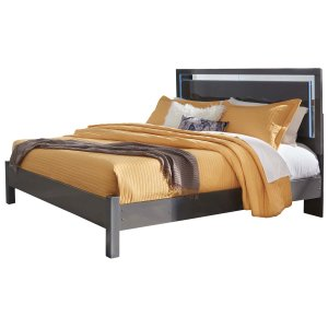 Ashley Furniture Steelson - Gray 3 Piece Bed Set (King)