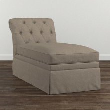 Allister Grande Armless Chaise