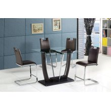 Crystal Pub Dining Chair