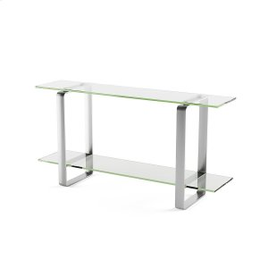 Bdi FurnitureConsole Table 1643 in Clear Glass