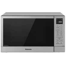 Panasonic 1.2 Cu. Ft. 1100W Countertop Microwave Oven + FlashXpress Broiler with Inverter Technology - Stainless Steel - NN-GN68KS