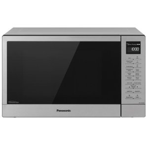 PANASONICPanasonic 1.2 Cu. Ft. 1100W Countertop Microwave Oven + FlashXpress Broiler with Inverter Technology - Stainless Steel - NN-GN68KS