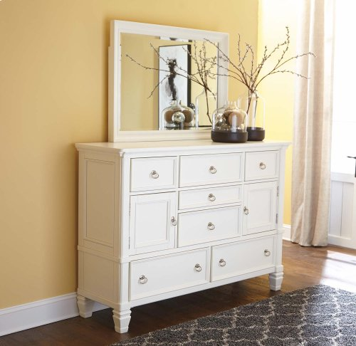 Prentice - White 2 Piece Bedroom Set