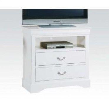 White L.p III TV Console