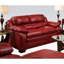 Simmons Soho Cardinal Loveseat