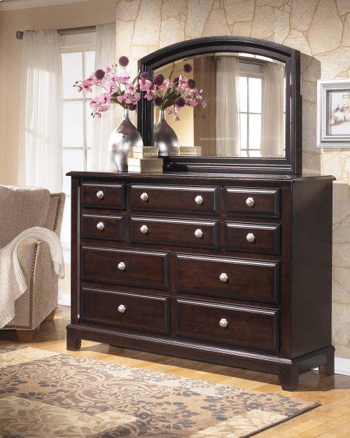 Ridgley - Dark Brown 2 Piece Bedroom Set