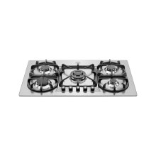 36 Cooktop 5-burner Stainless Steel