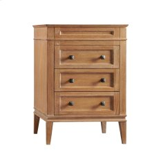 "Laurel 24"" Bathroom Vanity Cabinet Base in Vintage Honey"