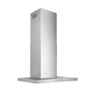 BroanBroan® 30-Inch Convertible Wall-Mount T-Style Chimney Range Hood, 450 MAX CFM, Stainless Steel