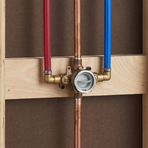 Flash Shower Rough-in Valve with PEX Inlet Elbows/Universal Outlets with Screwdriver Stops for Crimp Ring System  American Standard -