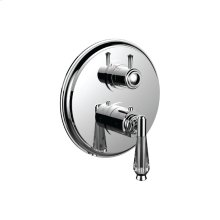 "7098hc-tm - 1/2"" Thermostatic Trim With 3-way Diverter Trim (shared Function) in Polished Chrome"