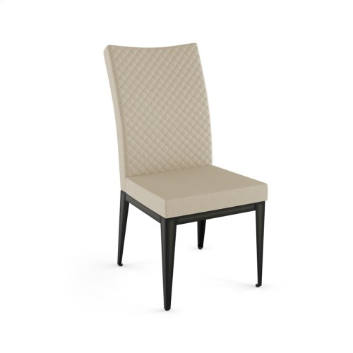 Leo Chair With Quilted Fabric