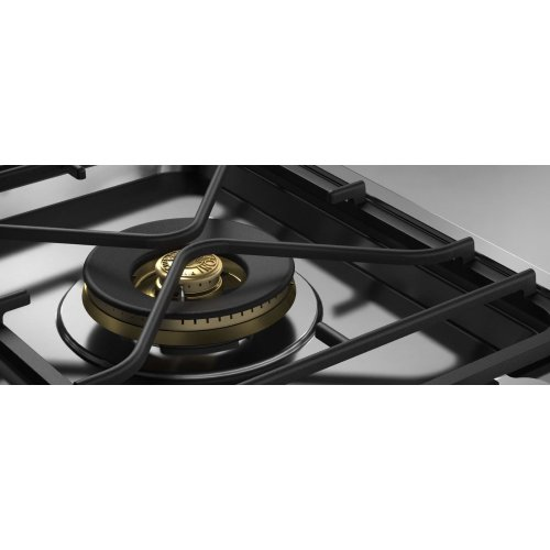 36 Segmented Cooktop 1-burner, 2 induction zones and griddle Stainless Steel