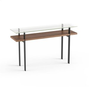 Console Table 1153 in Natural Walnut -