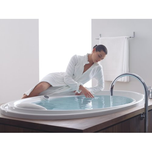 """White 72"""" X 46"""" Drop-in Effervescence + Whirlpool With Spa/massage Package"""
