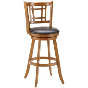 Hillsdale FurnitureFairfox Swivel Bar Stool - Oak