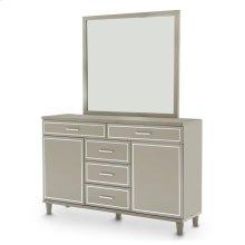 Dresser W/mirror Dove Gray