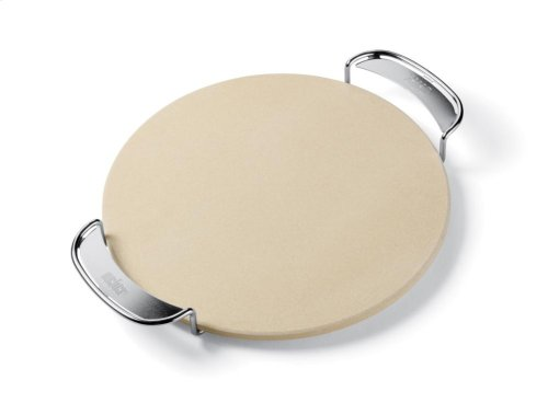 WEBER ORIGINAL - Pizza Stone With Carry Rack