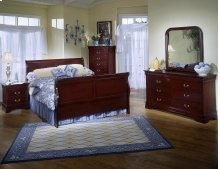 5933 Classic Queen GROUP; QB, Dresser Mirror, Chest & Nightstand (INCENTIVE PRICING!)
