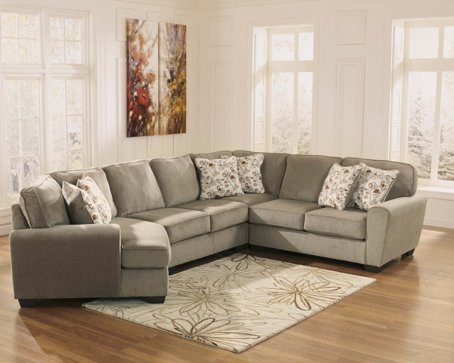Patola Park - Patina 4 Piece Sectional  sc 1 st  Williamsonu0027s Furniture : patola park sectional - Sectionals, Sofas & Couches