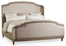 Bedroom Corsica King Upholstery Shelter Bed