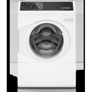 "Speed Queen3.48 cu.ft. 27"" Front Load Washer, LH, White"