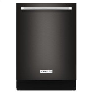 KitchenAid44 dBA Dishwasher with Dynamic Wash Arms and Bottle Wash Black Stainless Steel with PrintShield™ Finish