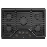 """GE ProfileGE PROFILE(TM) 30"""" Built-In Gas Cooktop with 5 Burners and Optional Extra-Large Cast Iron Griddle"""