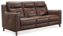 Living Room Lachlan Power Leather Headrest Sofa