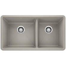 Blanco Precis 1-3/4 Bowl - Concrete Gray