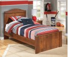 Barchan - Medium Brown 3 Piece Bed Set (Twin) Product Image