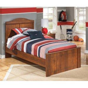 Ashley Furniture Barchan - Medium Brown 3 Piece Bed Set (Twin)