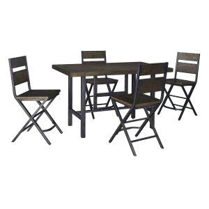 AshleySIGNATURE DESIGN BY ASHLEYKavara - Medium Brown 5 Piece Dining Room Set