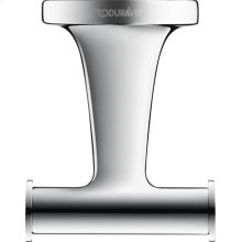 Double Towel Hook, Chrome