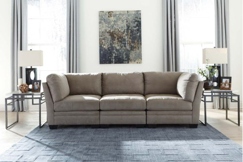 Iago - Cobblestone 4 Piece Sectional