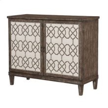 Hidden Treasures Nailhead Cabinet