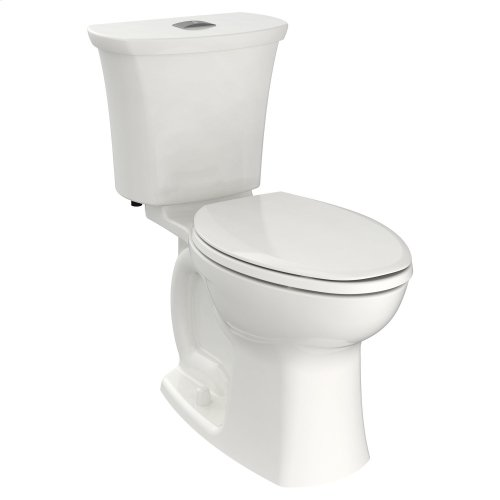 Edgemere Elongated Dual Flush Toilet  American Standard - White